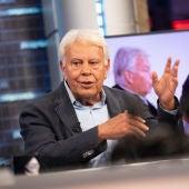 """El consejo de Felipe González a los aspirantes a la política: """"Hay que demostrar que se sirve para otras cosas"""""""