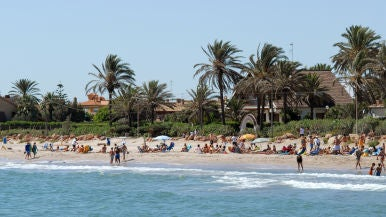 Playa de El Puig de Santa María