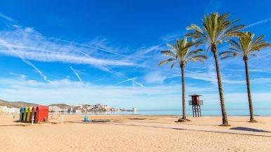 Playa de San Antonio en Cullera, Valencia