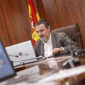 Vicente Arques, alcalde de Alfaz