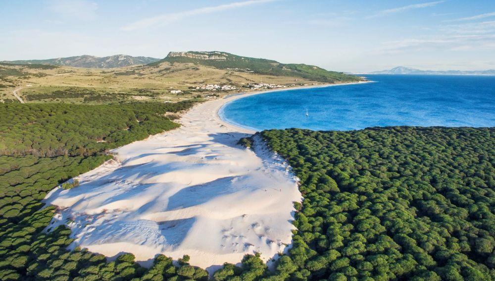 La playa de Bolonia, en Tarifa