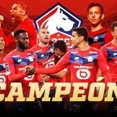 El Lille campeón de Liga francesa