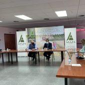 Fresneda, reunido este miércoles con el presidente del PP de Castilla-La Mancha y otros miembros del partido en su sede