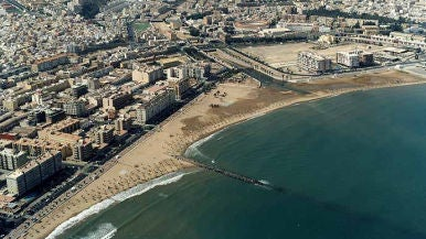 Playa Los Cárabos, Melilla