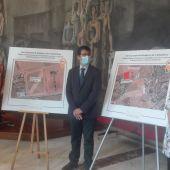 Nieva, Caballero y Zamora han presentado la ubicación del nuevo parque de bomberos