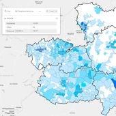 Mapa casos totales semana del 17 al 23 de mayo