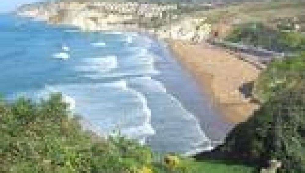 Playa de Arrietara. Sopela