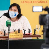 Ana Fernández, portavoz del Gobierno