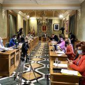 Sesión plenaria en el Ayuntamiento de Cuenca este jueves