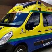 Una UVI de urgencias acudió hasta el lugar del accidente