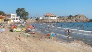 Playa Bahía de Mazarrón