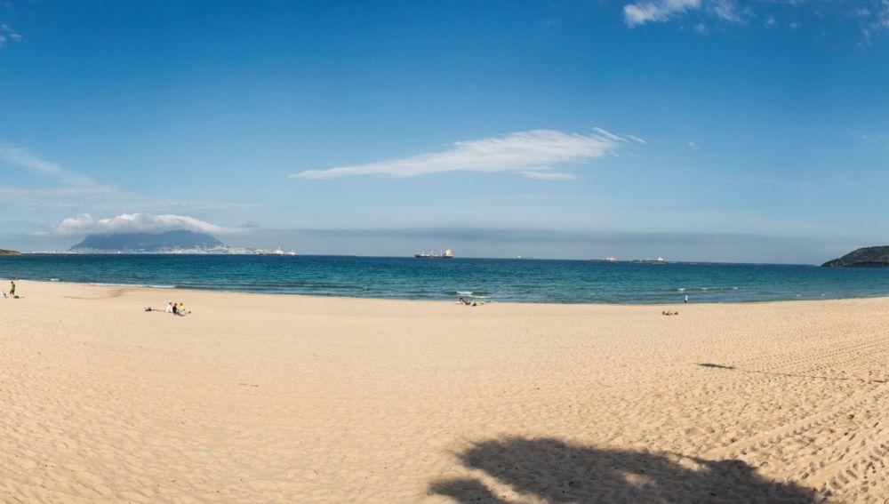 La playa de Getares, en Algeciras