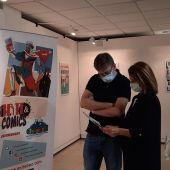 Una exposición muestra en Badajoz la relación entre el cómic y el arte