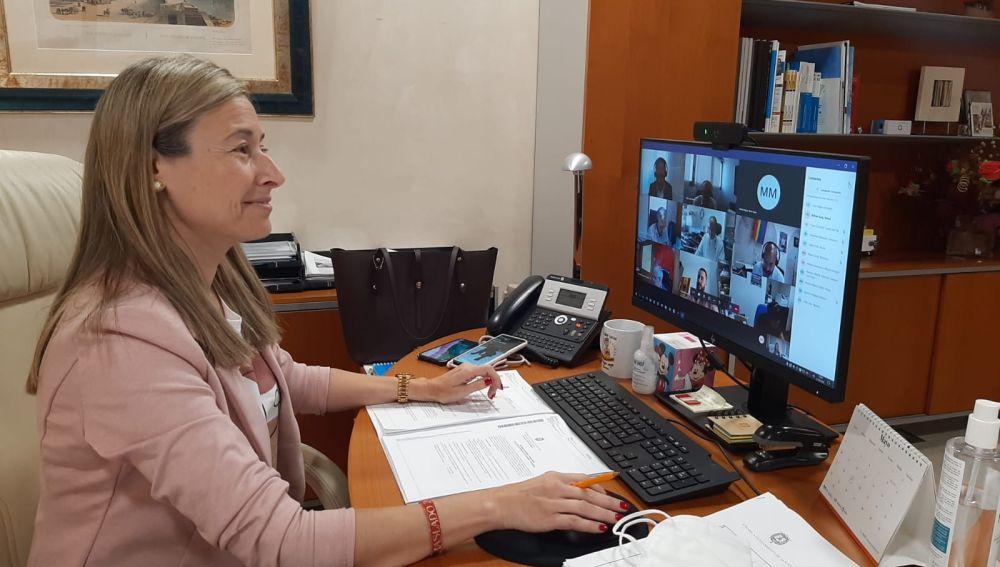 La concejala de Hacienda, Lidia López