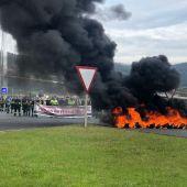 Protesta de los trabajadores de Navantia