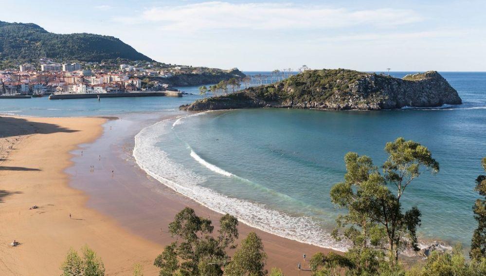 Playa de Isuntza. Lekeitio