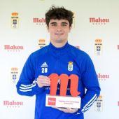 Javi Mier, jugador del Real Oviedo