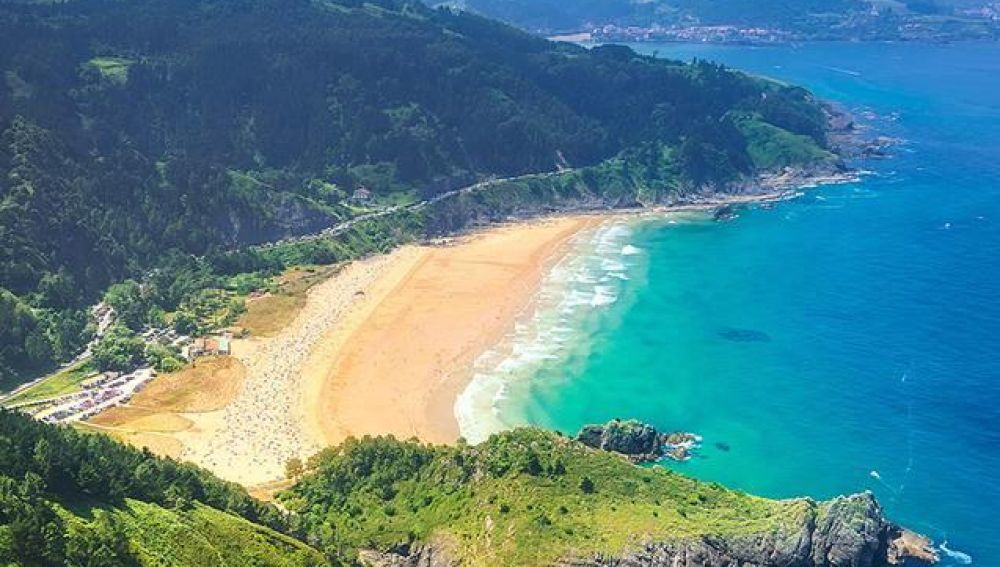 Playa de Laga. Ibarrangelu/ urdaibai