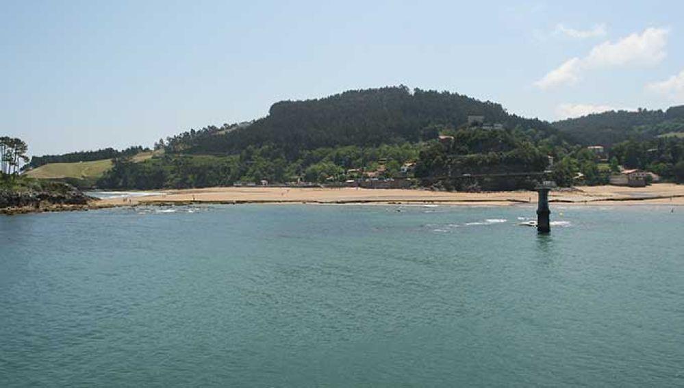 Playa de Karraspio. Mendexa
