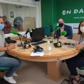 Jose Navarro, Esther Díez y Héctor Díez