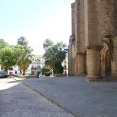 Plaza de Santiago en Cáceres