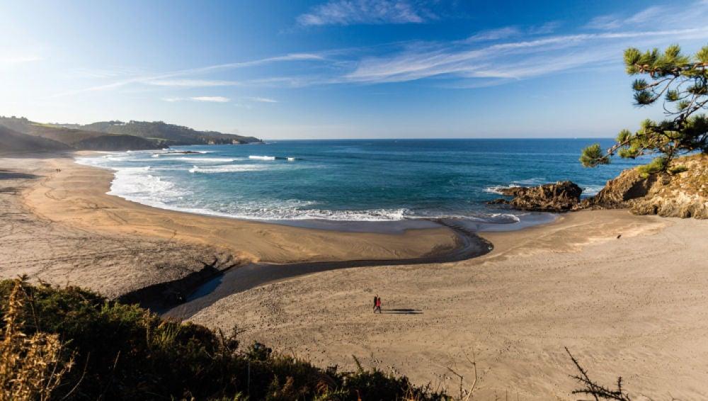Playa de Frejulfe Frexulfe