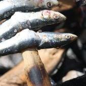 Espeto sardinas