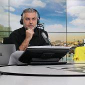 Carlos Alsina con la camiseta del Villarreal