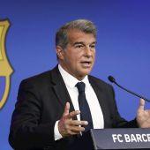 Joan Laporta hace balance de la situación del Barcelona