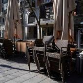 Una terraza de Madrid
