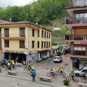 Marcha ciclista de los pensionistas