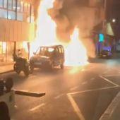 Incendio en la calle Capitán Segarra