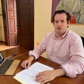 Antonio Sánchez ha sido coordinador de Cultura y Juventud desde el año 2017 y a partir de ahora formará parte, como concejal, del grupo municipal Ciudadanos