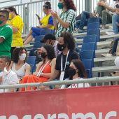 Marcelo, espectador de lujo de su hijo Enzo en la Liga Promises