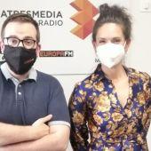 Guiller Verdín y Vanessa Goikoetxea