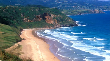 Playa de Vega Berbes