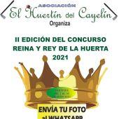 Se convoca el concurso Reina y Rey de la huerta 2021