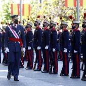 Los Reyes presiden el homenaje a los caídos en un atípico Día de las Fuerzas Armadas marcado por la pandemia