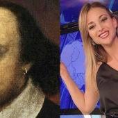 """La presentadora que confundió a William Shakespeare con el primer vacunado se justifica: """"Me faltó una coma"""""""