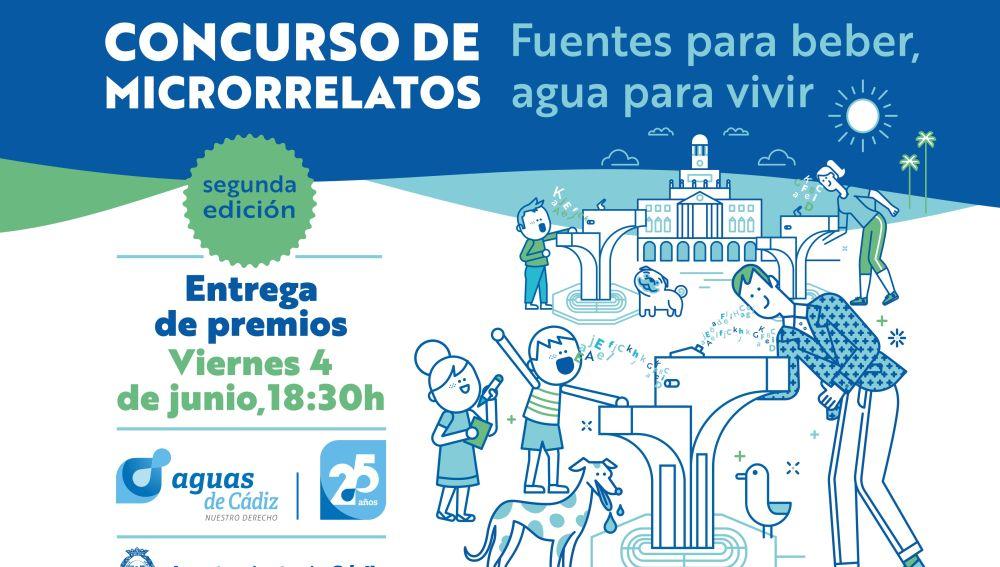 Aguas de Cádiz entregará el viernes los premios del concurso de microrrelatos de Aguas de Cádiz
