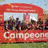 El Barça, campeón de LaLiga Promises