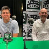 Omar Malpartida, director gastronómico del restaurante Maymanta, y Ricardo Marí, chef ejecutivo de los restaurantes Lilau Ibiza y Brisamar