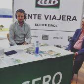 Fran Cajoto, alcalde de Foz y presidente de la Mancomunidad de A Mariña y José Carlos Paleo, presidente de la Federación de Comercio de A Mariña