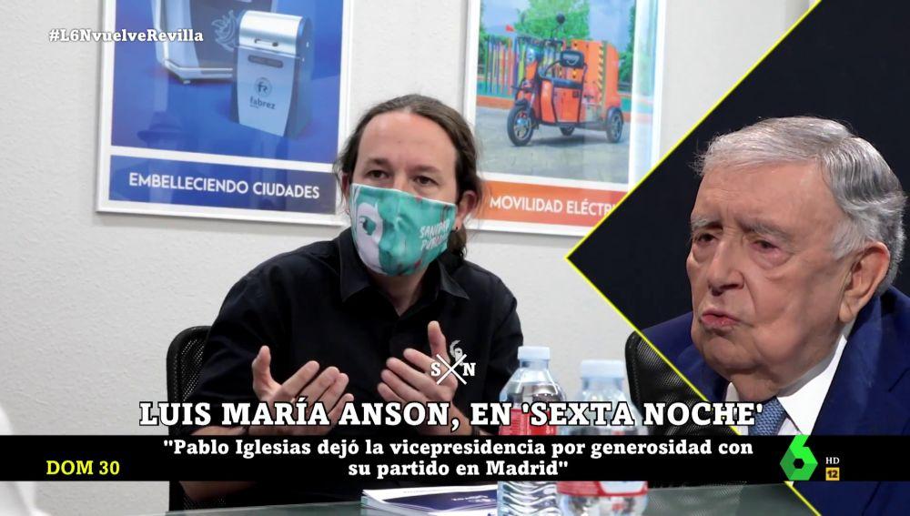 Luis María Anson en laSexta Noche