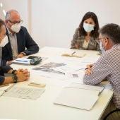 Reunión del Gobierno municipal para hablar sobre Fadricas