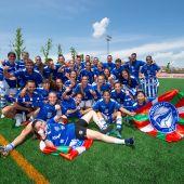 El Alavés Gloriosas celebra el ascenso a Primera División