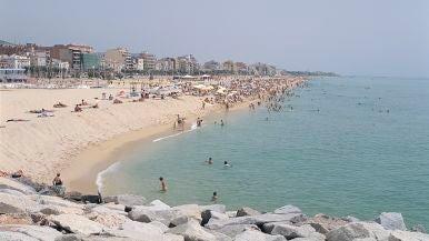 Playa de Ocata (El Masnou, Barcelona)
