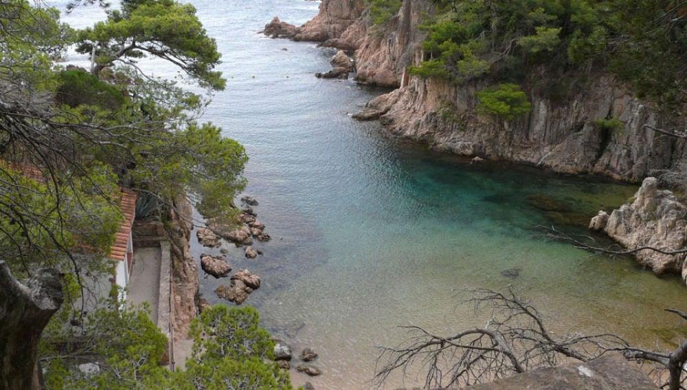 Playa de Aigua Xelida (Tamariu, Palafrugell, Girona)