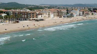 Playa de Sant Salvador (El Vendrell, Tarragona)