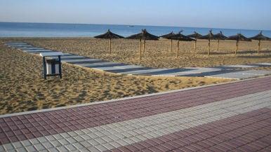 Playa Central de Isla Cristina